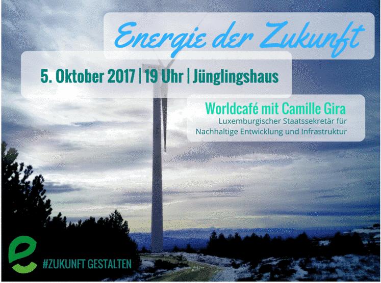 Energie der Zukunft – WorldCafé