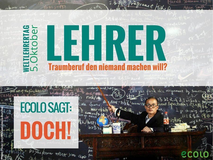 Zum Weltlehrertag