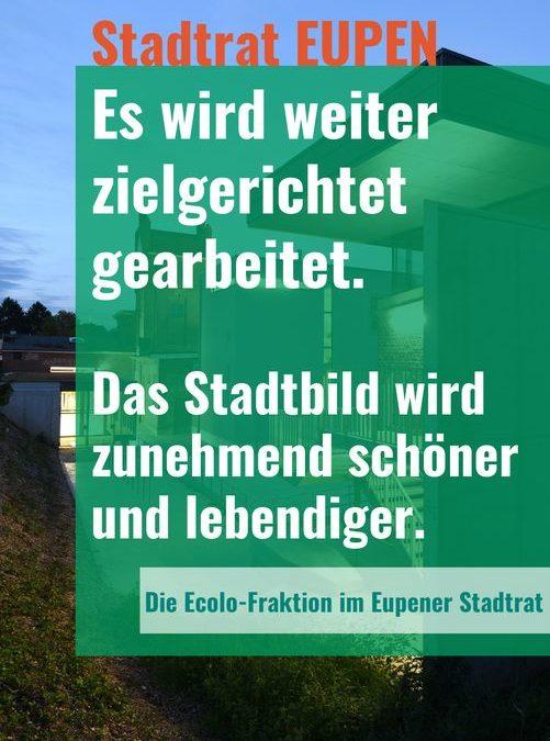 Haushaltsdebatte: Stadtrat Eupen