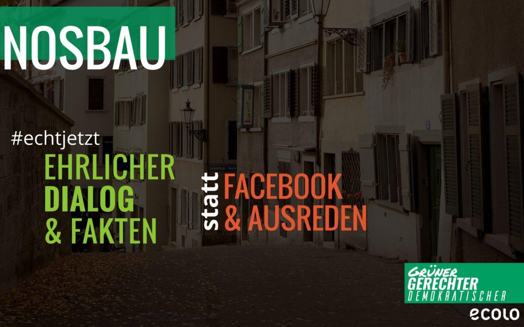 """Sozialer Wohnungsbau: """"Einen ehrlichen Dialog und Fakten, statt Facebook und schlechte Ausreden""""."""
