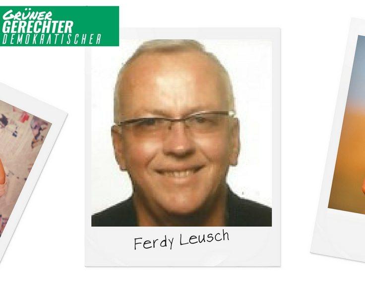 Grüner Faden durch alle Gemeinden – Ferdy Leusch