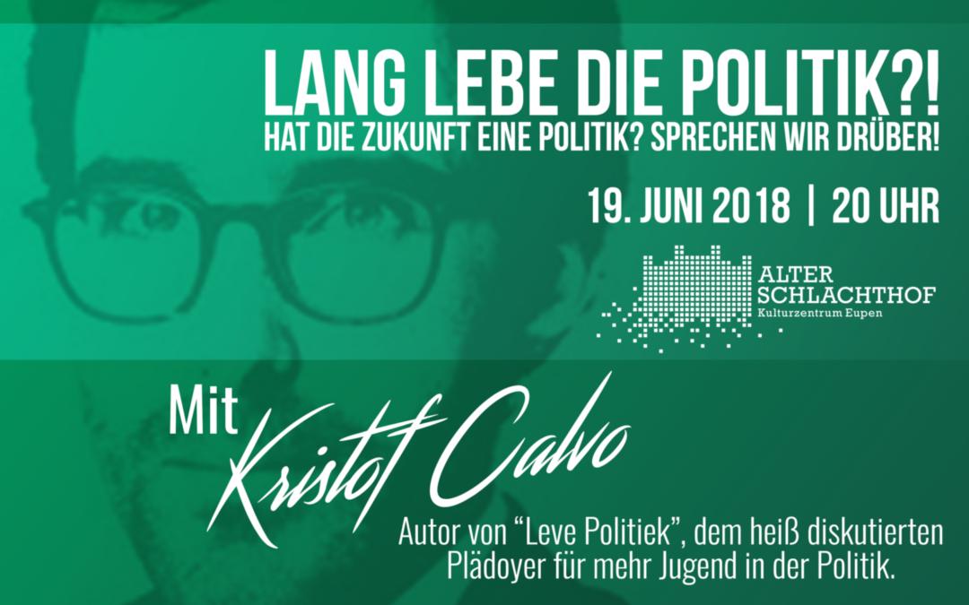 Lang Lebe die Politik?! – Hat die Zukunft eine Politik?
