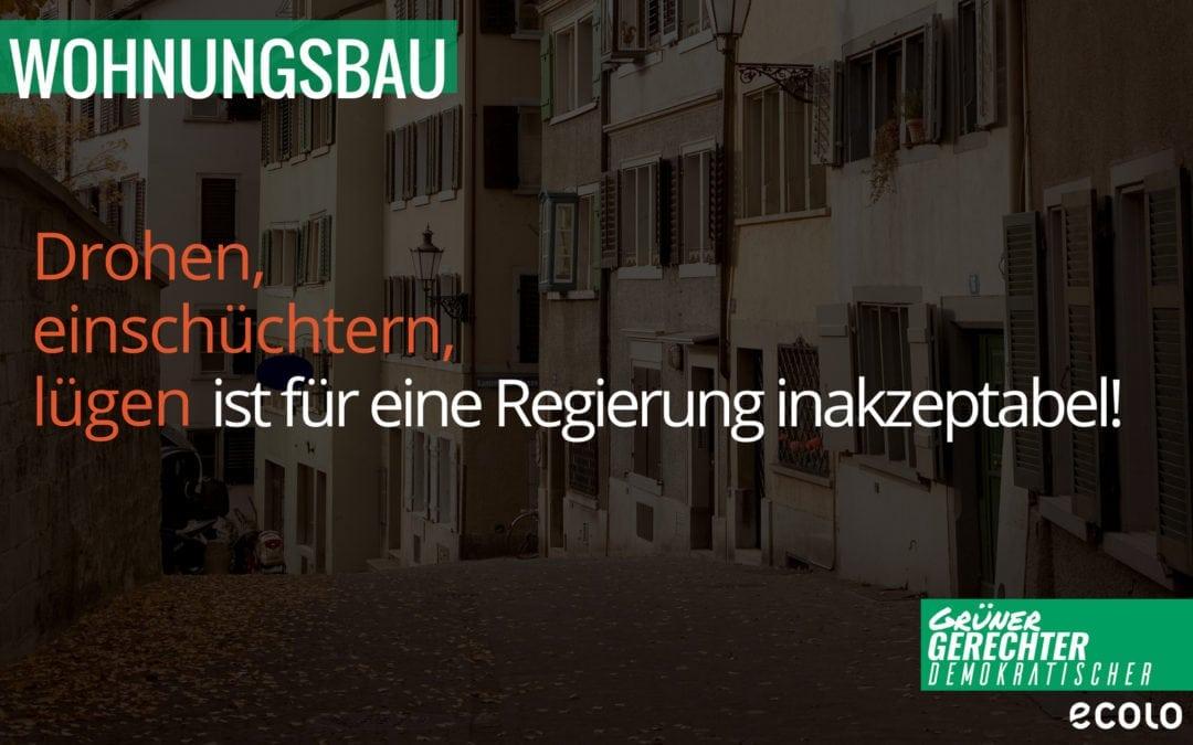 Regierungsmitteilung Wohnungswesen
