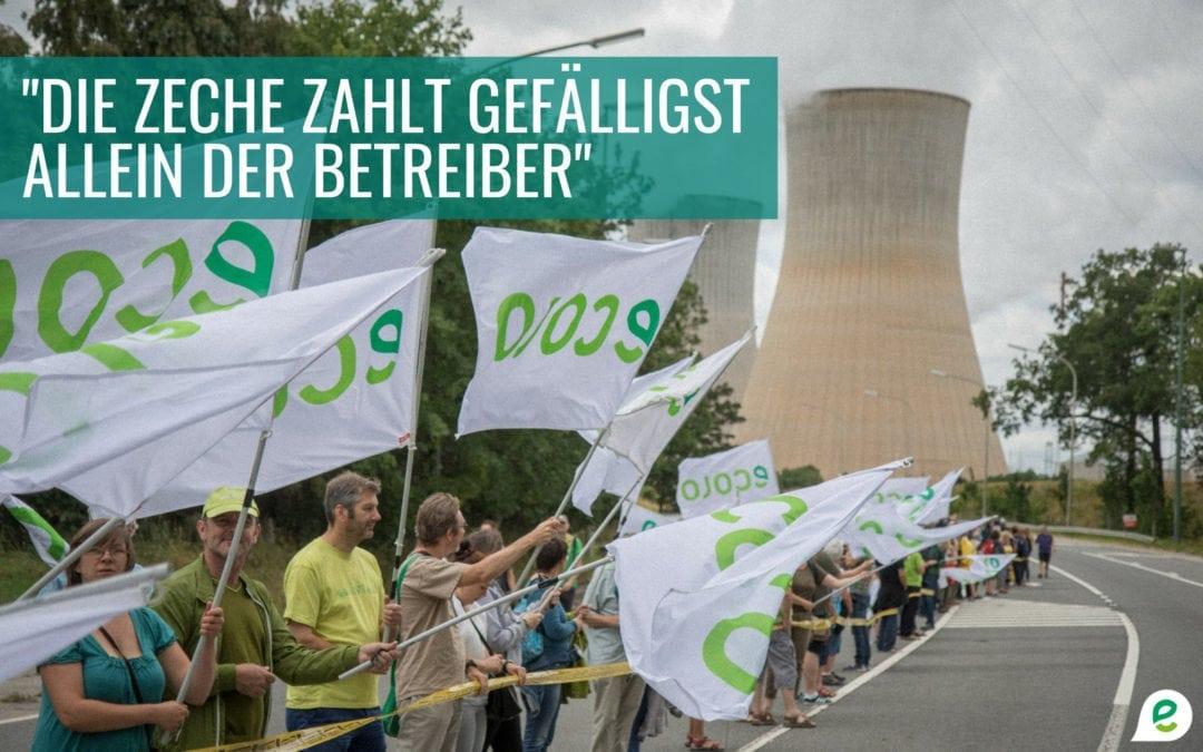 Atommüllendlagerung – Engie darf nicht die Bürger zur Kasse bitten!
