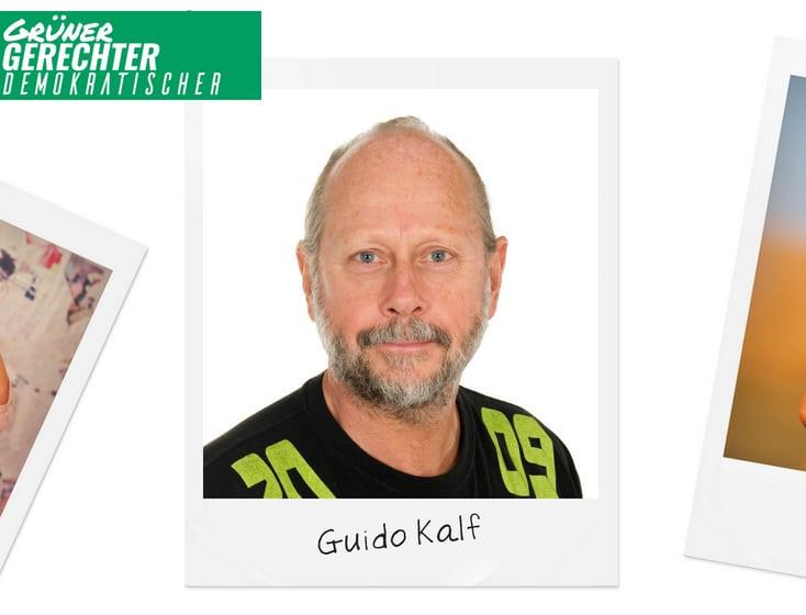 Grüner Faden durch alle Gemeinden – Guido Kalf