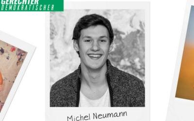 Grüner Faden durch alle Gemeinden – Michel Neumann