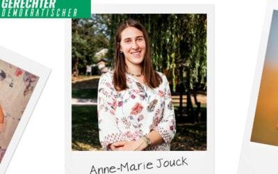 Grüner Faden durch alle Gemeinden – Anne-Marie Jouck
