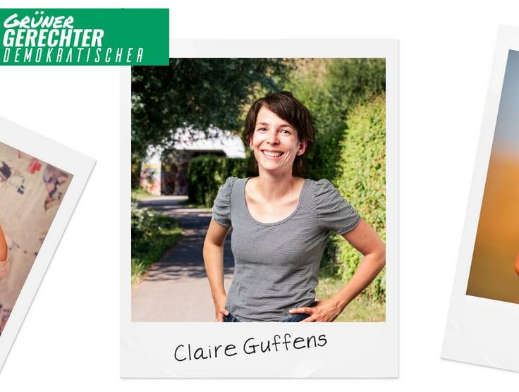 Grüner Faden durch alle Gemeinden – Claire Guffens