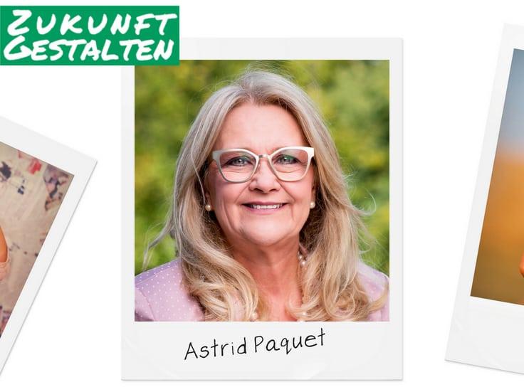 Grüner Faden durch Kelmis – Astrid Paquet