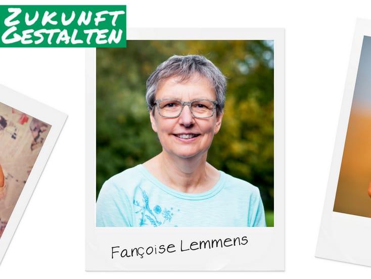 Grüner Faden durch Lontzen – Françoise Lemmens