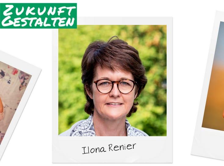 Grüner Faden durch Kelmis – Ilona Renier