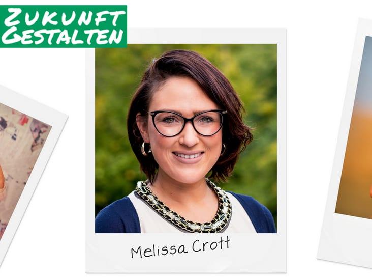 Grüner Faden durch Kelmis – Melissa Crott