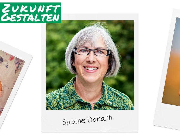 Grüner Faden durch Kelmis – Sabine Donath