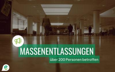 Massenentlassungen in der Industriezone East Belgium Park