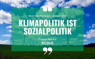Klimapolitik ist Sozialpolitik