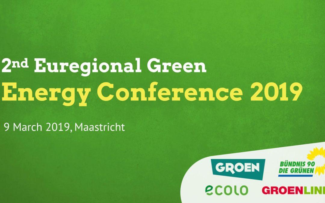 Energiekonferenz in Maastricht am 9. März