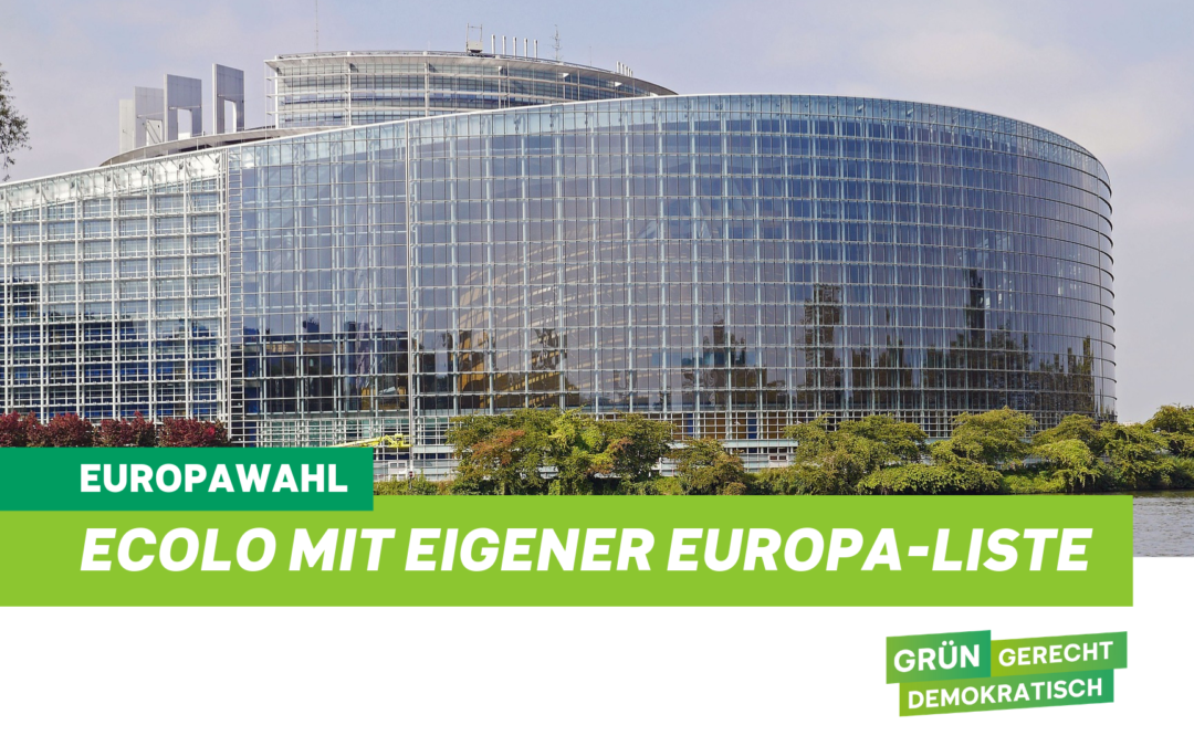 Ecolo Ostbelgien mit eigener EU-Liste