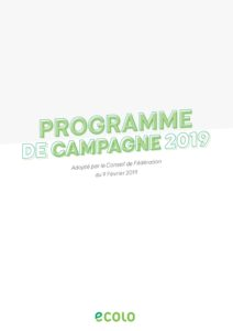 Programme Ecolo 2019-complet