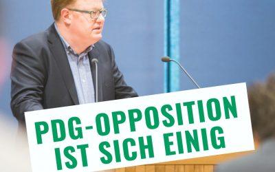 Verpasste Chance für ostbelgische Politik