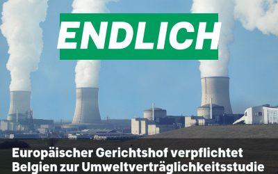 Europäischer Gerichtshof verurteilt Belgien zu Umweltverträglichkeitsstudie wegen Doel