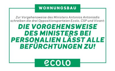 Pressemitteilung: Wohin geht der ostbelgische Wohnungsbau?