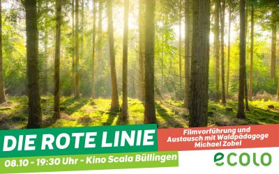 Filmvorführung und Diskussion: Die rote Linie