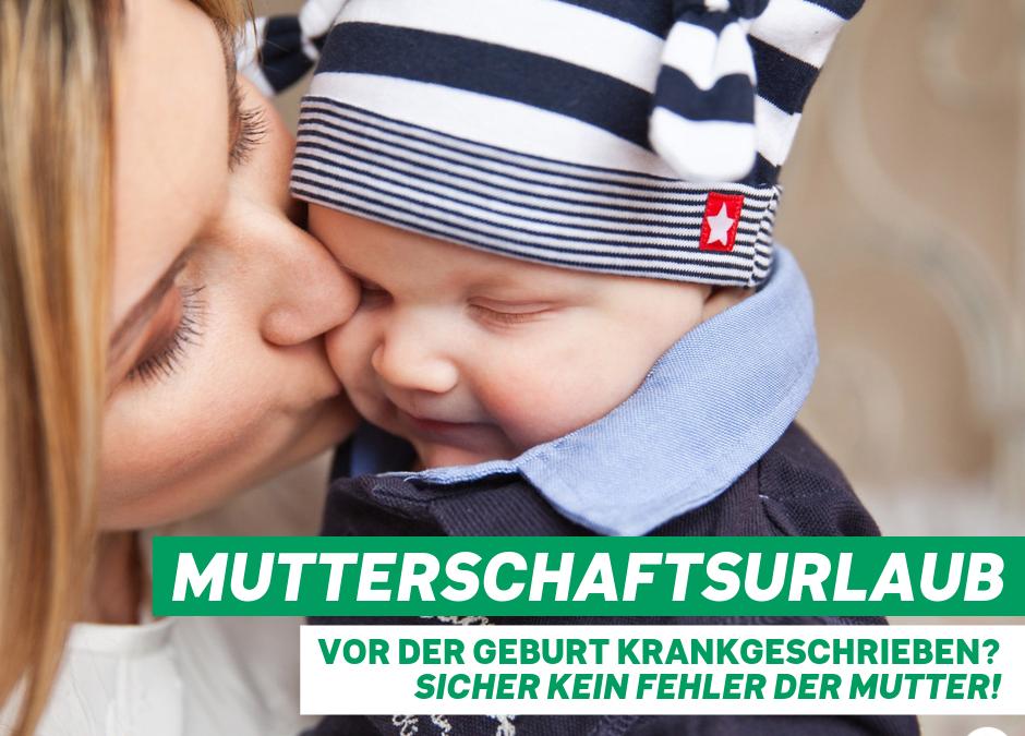 Zum Mutterschaftsurlaub