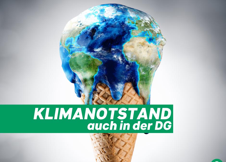 Ab heute wird der Klimanotstand im PDG diskutiert!
