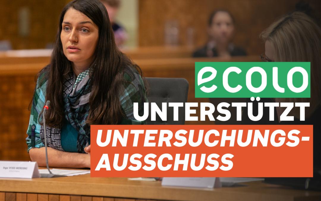 Ecolo unterstützt Forderung nach Untersuchungsausschuss