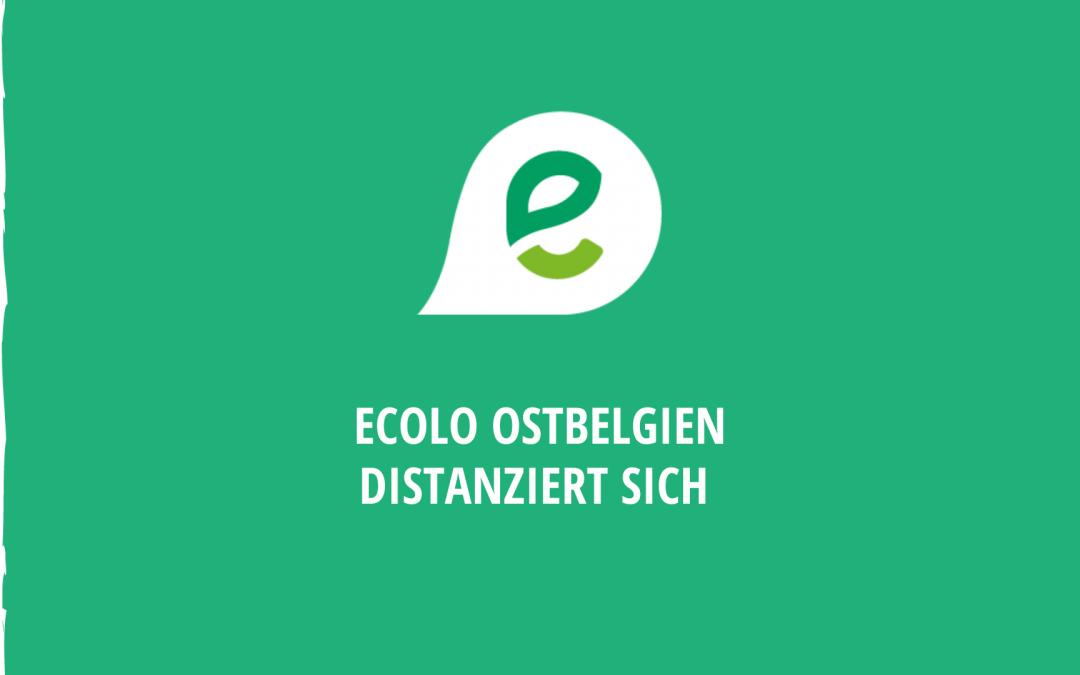 Ecolo Ostbelgien distanziert sich von den Äußerungen der Raerener Schöffin Heike Esfahlani-Ehlert