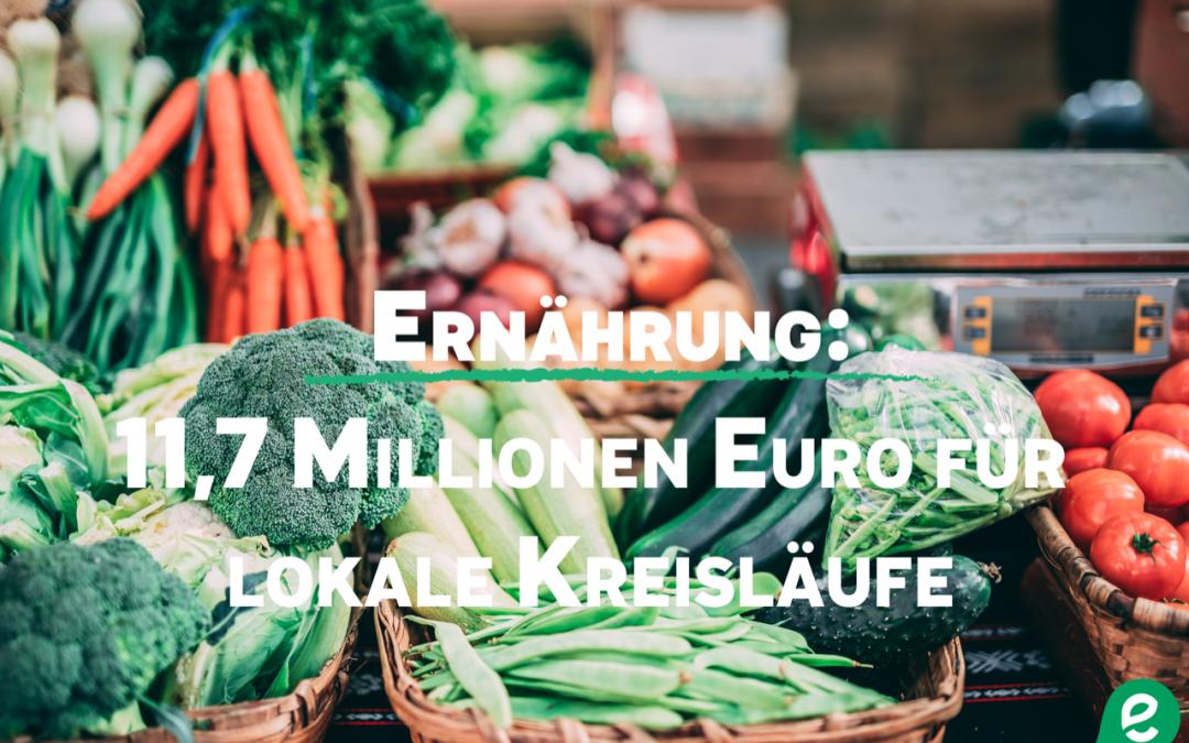 Wallonie fördert Projekte zur Relokalisierung der Nahrungsmittelproduktion – auch ostbelgische Beteiligung