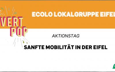 Aktionstag Sanfte Mobilität in der Eifel – Im Rahmen von VertPop 2021